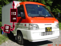 赤帽車荷台サイズ01